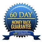 Online Dog Trainer - image of 60 day 100% Money Back Guarantee seal